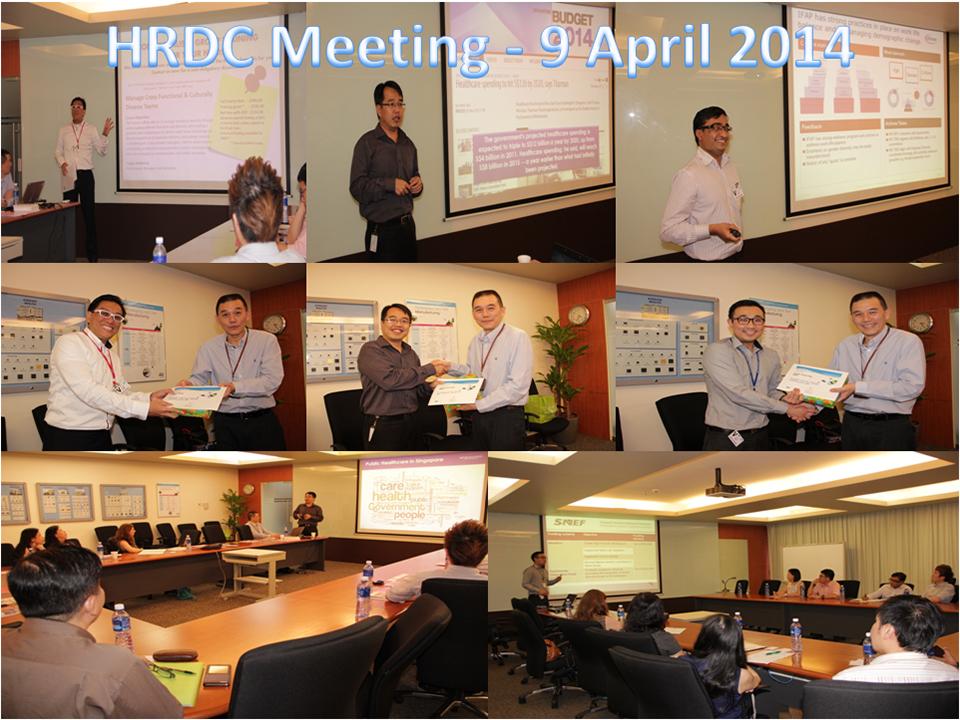 HRDC Meeting - 09 Apr 14