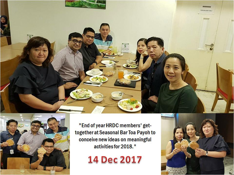 HRDC Meeting – 14 Dec 17