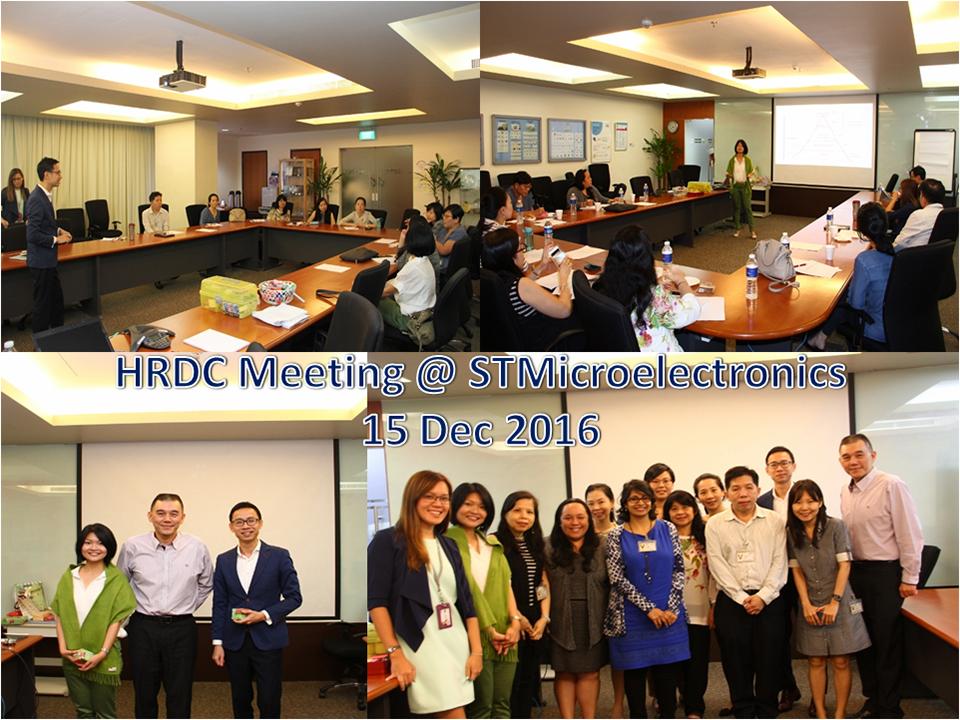 HRDC Meeting – 15 Dec 16