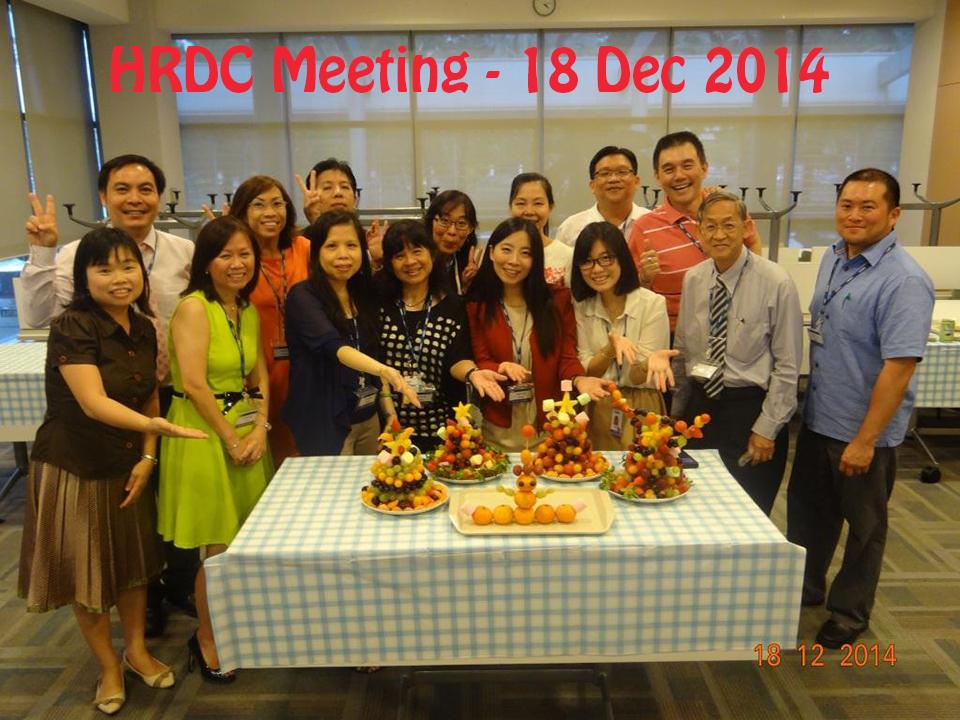 HRDC Meeting – 18 Dec 14
