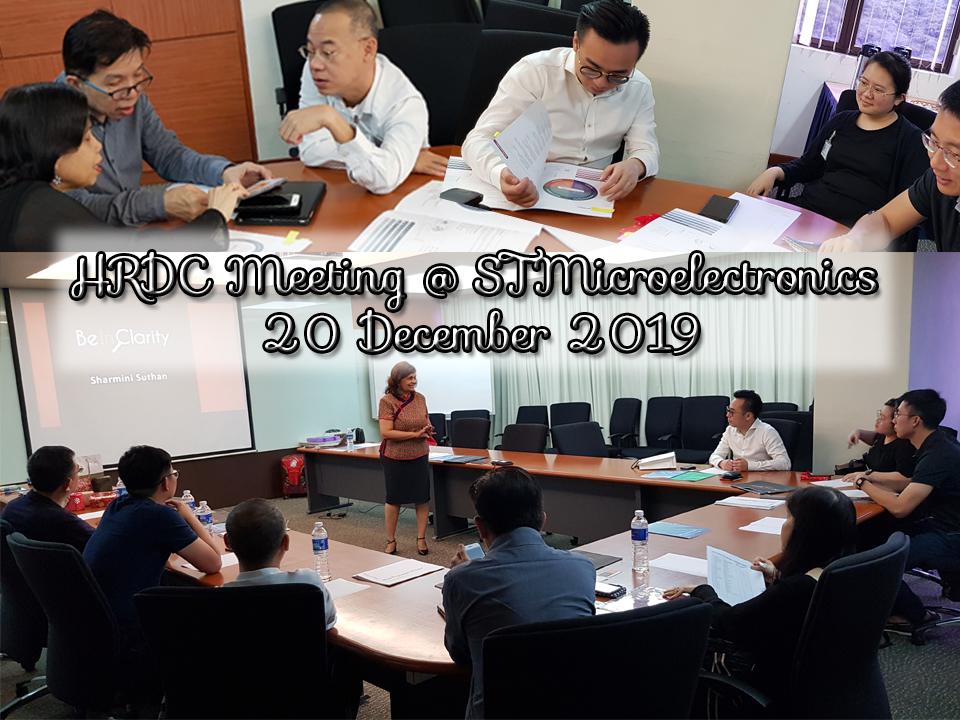 HRDC Meeting – 20 Dec 19
