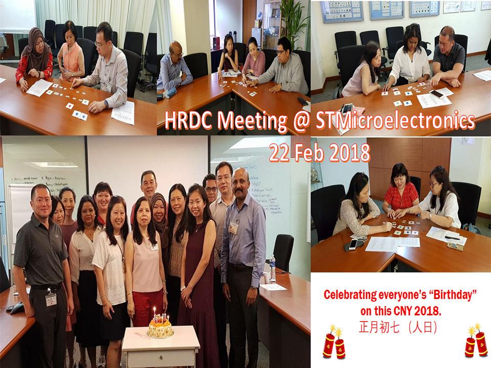 HRDC Meeting – 22 Feb 18
