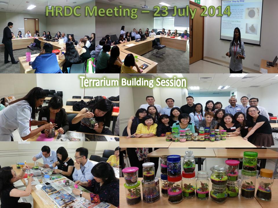 HRDC Meeting – 23 Jul 14