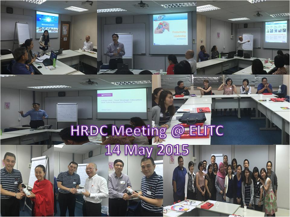 HRDC Meeting – 26 Mar 15