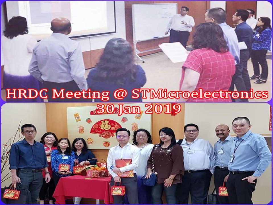 HRDC Meeting – 30 Jan 19